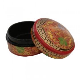 Round Papier-Mache Box