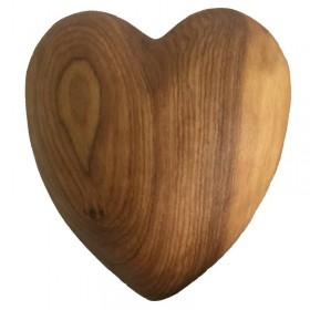 Large Olive Wood Heart