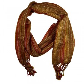 Alpaca Striped Scarf 6 colours