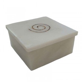 White Swirl Box