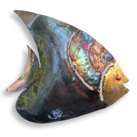 Recycled Metal Angelfish