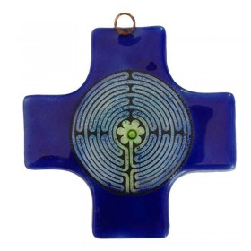 Labyrinth Square Cross