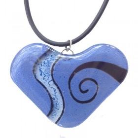Heart Glass Pendant
