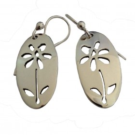Daisy Cutout Earrings