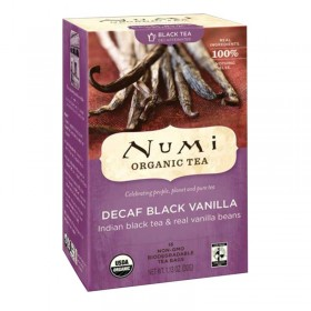 Decaf Black Vanilla Tea