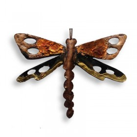 Recycled Metal Dragonfly