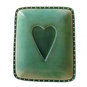 Green Heart Dish