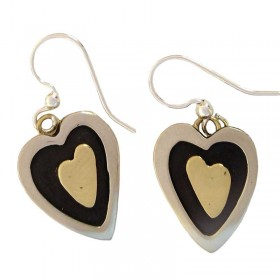 Hearts Inside Earrings