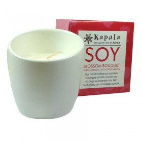 Soy Blossom Ceramic Candle