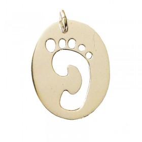Baby Footprint Pendant