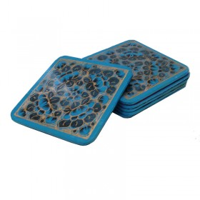 Papier-Mache Coasters