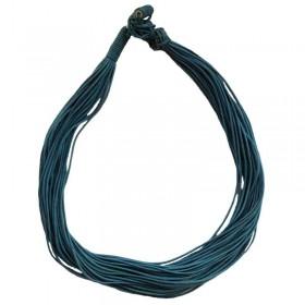 Blue Waxed Thread