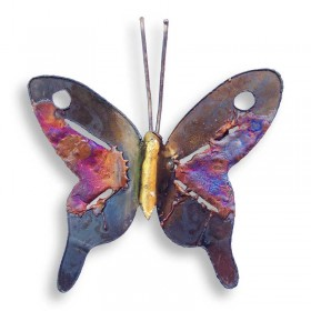 Recycled Metal Butterfly