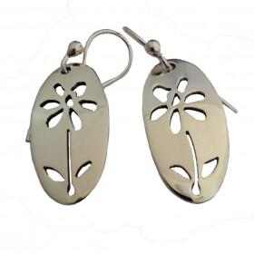 Daisy Cutout Earrings