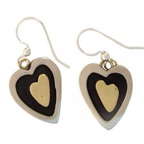 Hearts Inside Earrings