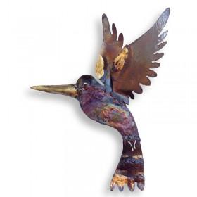 Recycled Metal Hummingbird