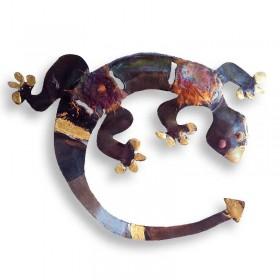 Recycled Metal Lizard