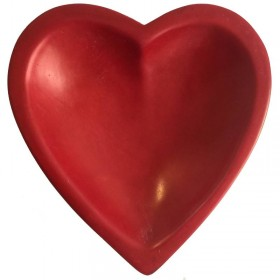 Red Heart Shaped Dish