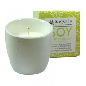 Soy Vanilla Ceramic Candle