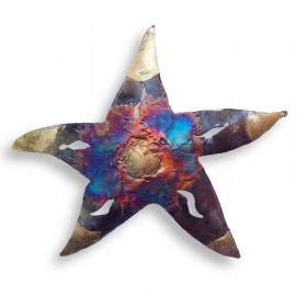 Recycled Metal Starfish