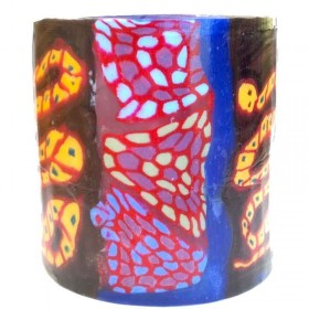Rainbow Serpent Candle