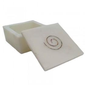 White Swirl Box