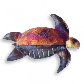Recycled Metal Turtle