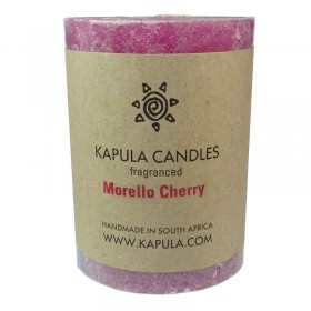 Cherry Pillar Candle