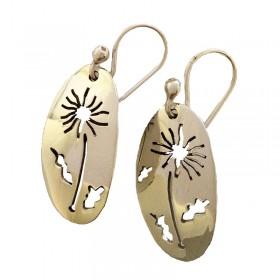 Dandelion Cutout Earrings