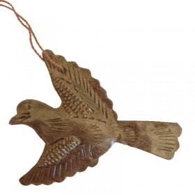 Recycled Metal Dove